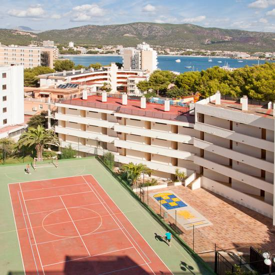Tennis court palmanova suites by trh hotel magaluf
