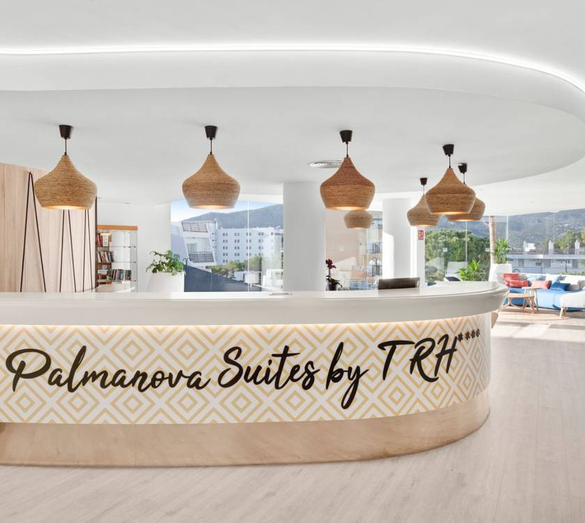 Reception palmanova suites by trh hotel magaluf